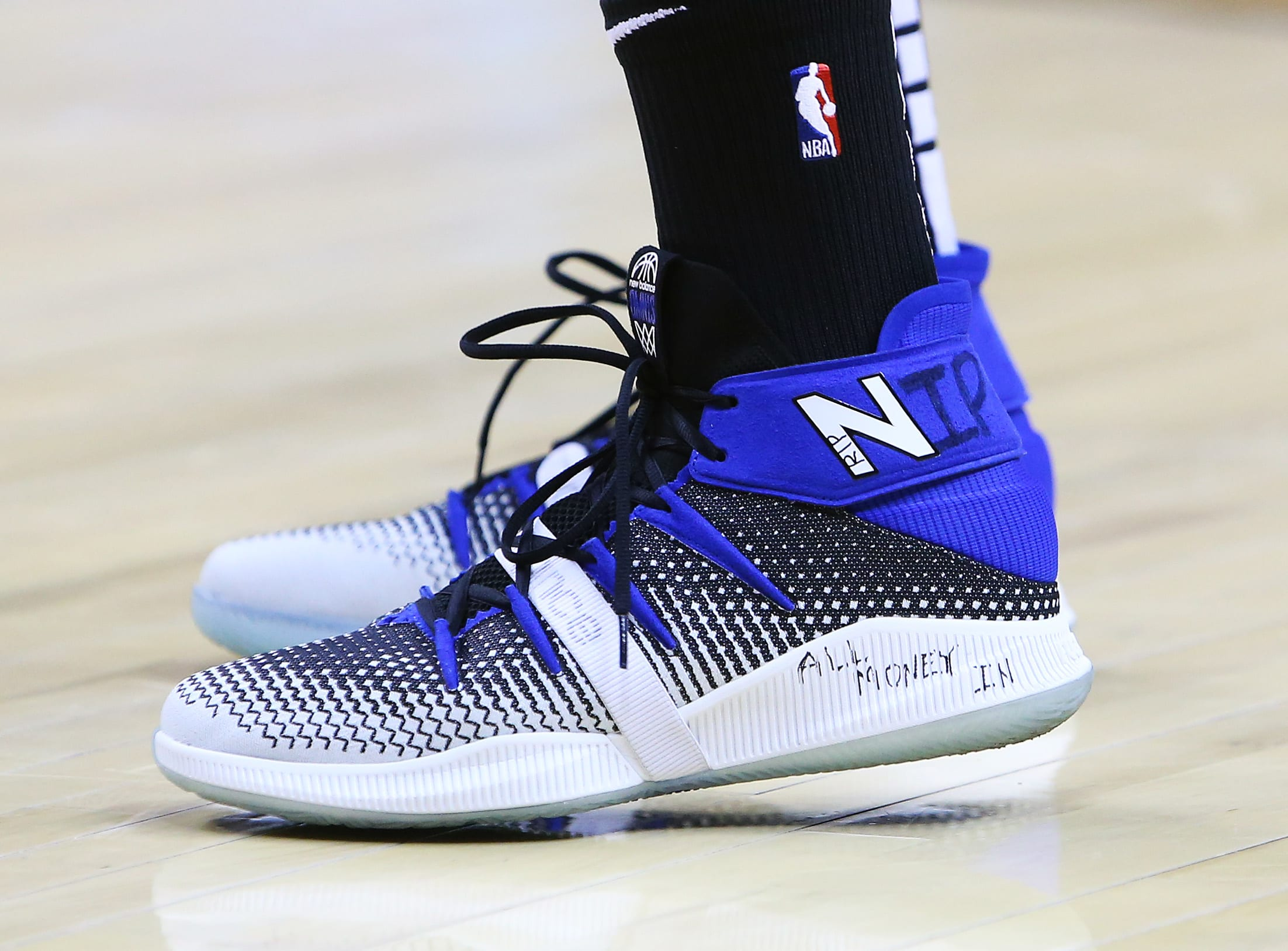 kawhi leonard new balance shoes